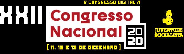 Logotipo XXII Congresso Nacional Juventude Socialista (Digital)